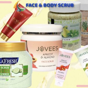 > Face & Body Scrub