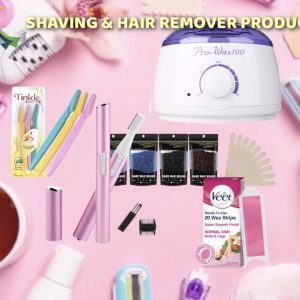 > Shaving & Hair removal Products