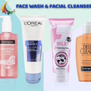 > Face Wash & Facial Cleanser