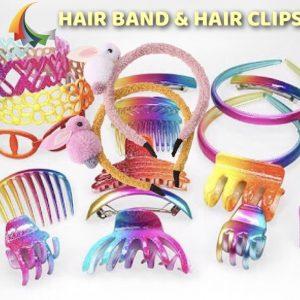 > Hair Band & Hair Clips